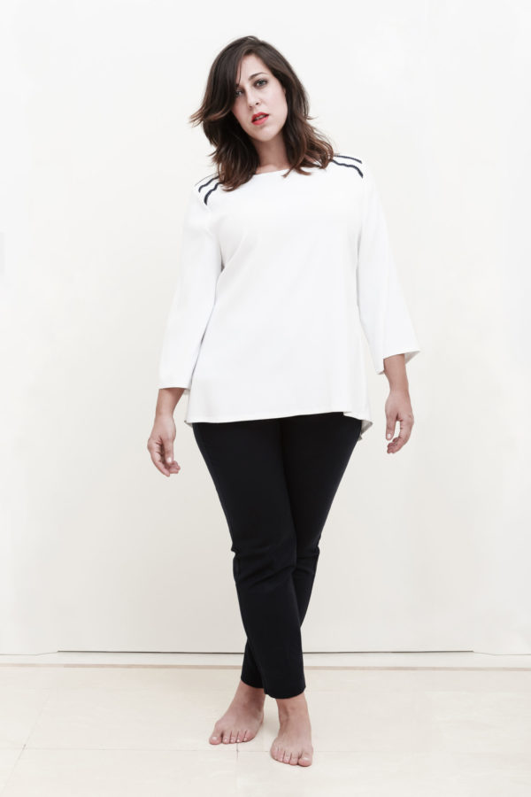 Atelier 312_Blouse Madrid blanche
